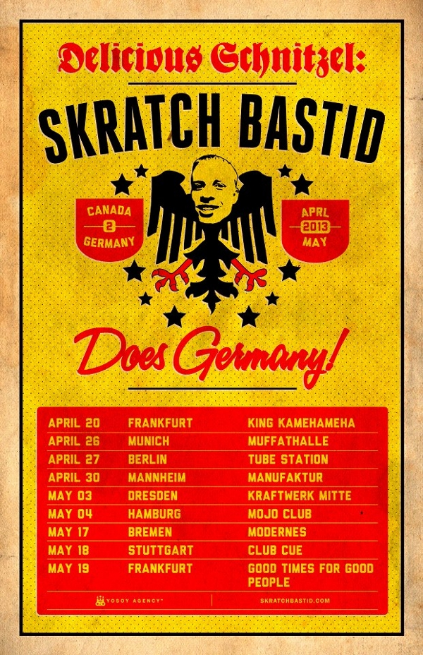 Delicious Schnitzel - Skratch Bastid Does Germany